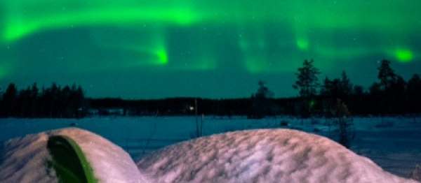 Northern Lights Finnish Lapland