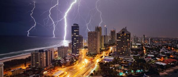 Storm over the Gold Coast